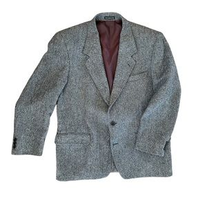 Donegal tweed blazer the real Magee